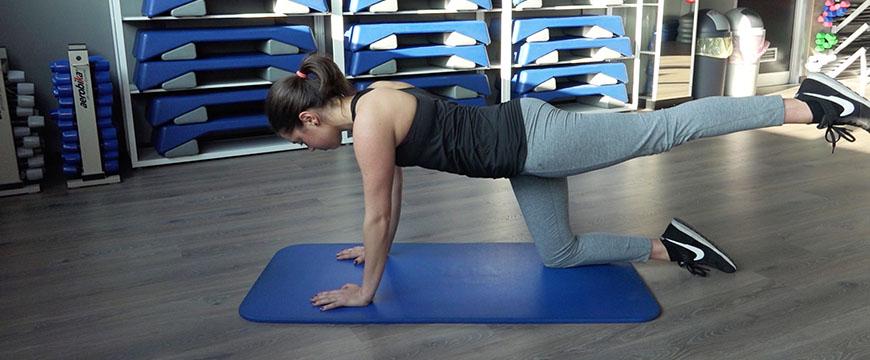 esercizio mal di schiena