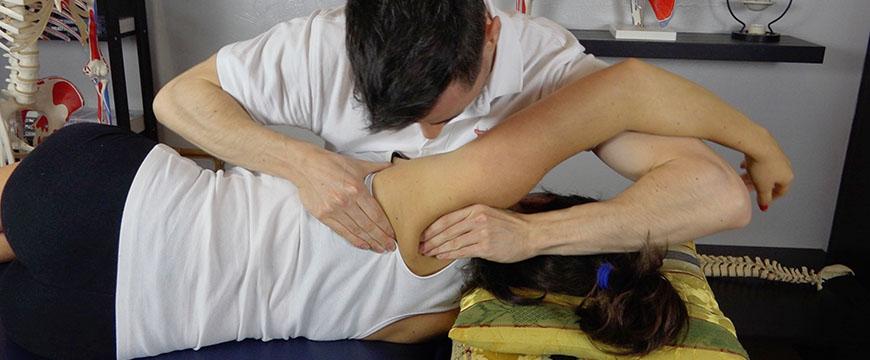 fisioterapia scapola