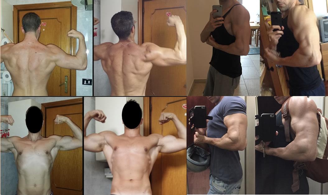 allenamento braccia programma