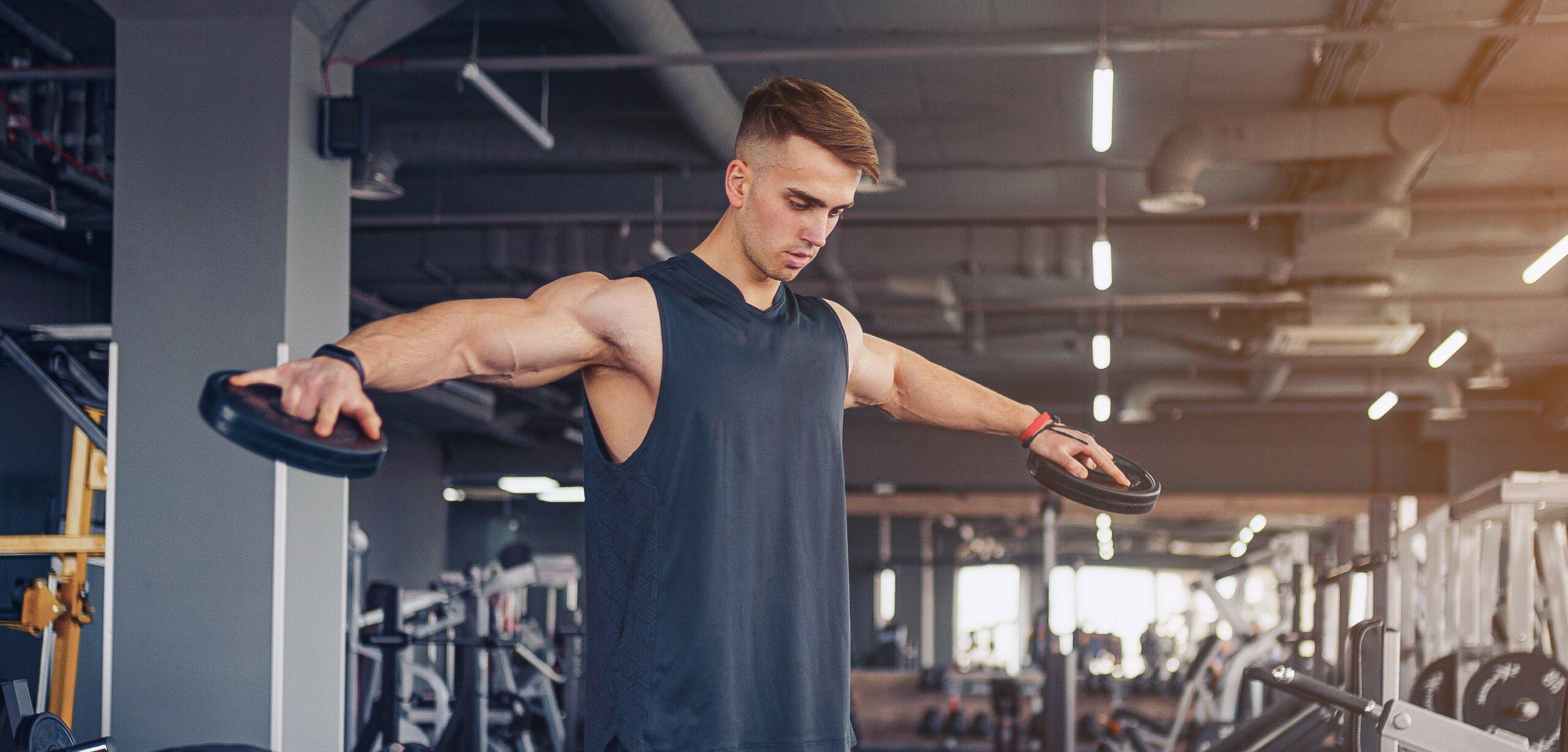 alzate laterali in palestra e nel bodybuilding