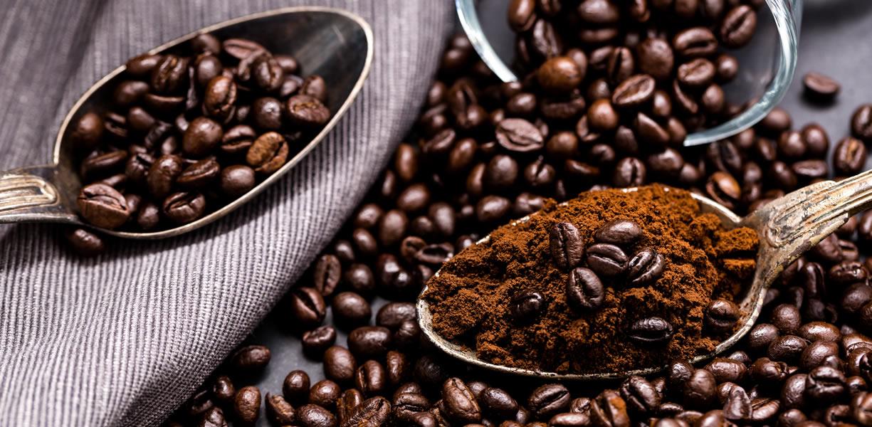 caffeina negli alimenti