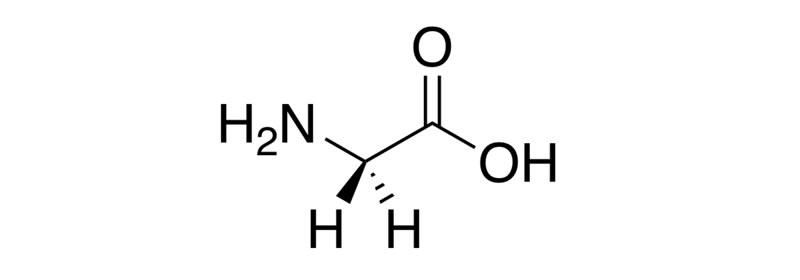glicina struttura molecolare