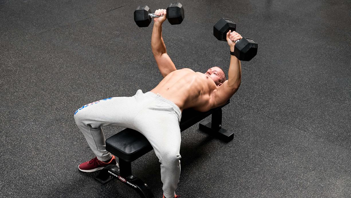 ipertrofia muscolare volume allenante