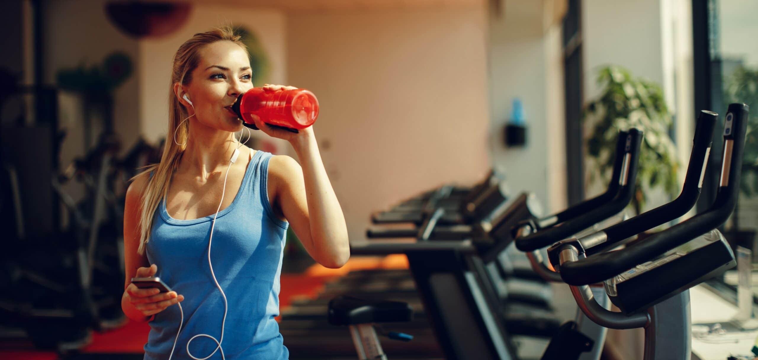 bevande energetiche per lo sport e la palestra