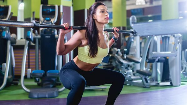 Lo squat profondo fa male alle ginocchia?