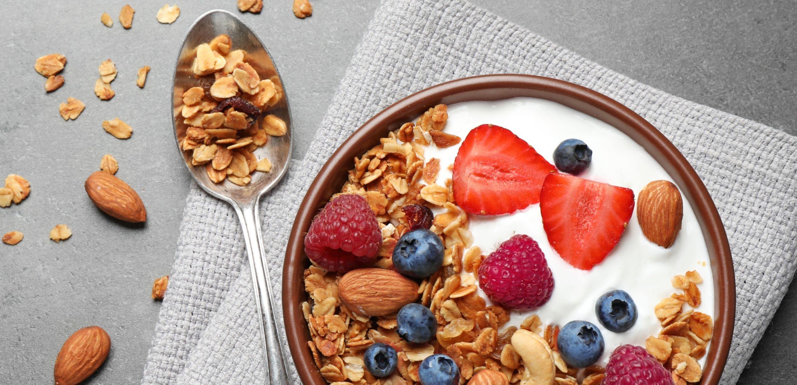 La colazione ideale per la palestra e il bodybuilding
