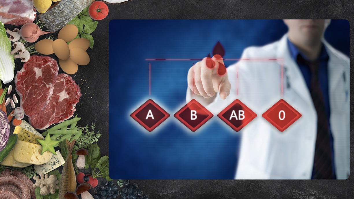 dieta per sangue a positivo