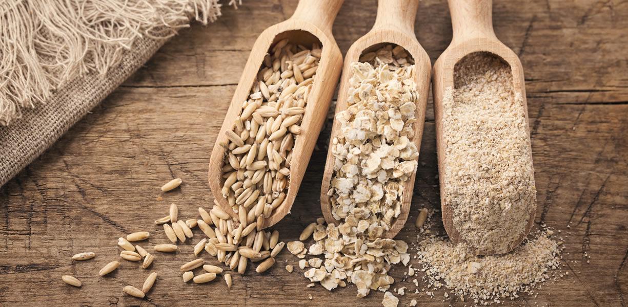 differenze fiocchi di avena farina di avena crusca avena