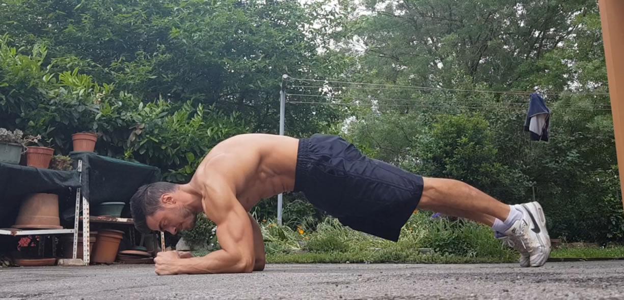 plank esercizio