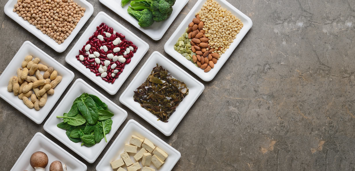 alimenti vegetali ricchi di proteine