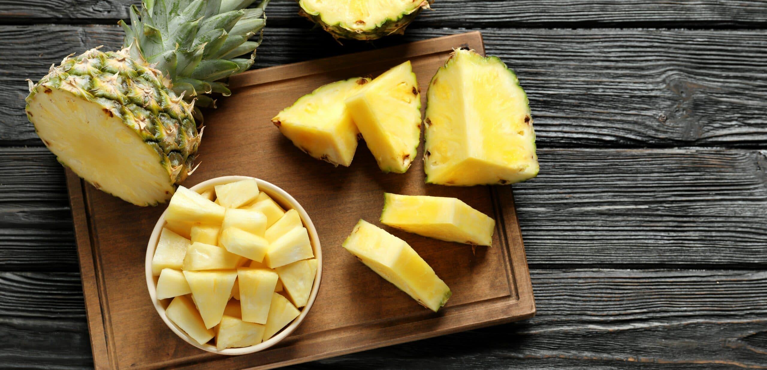 bromelina e ananas benefici nella dieta