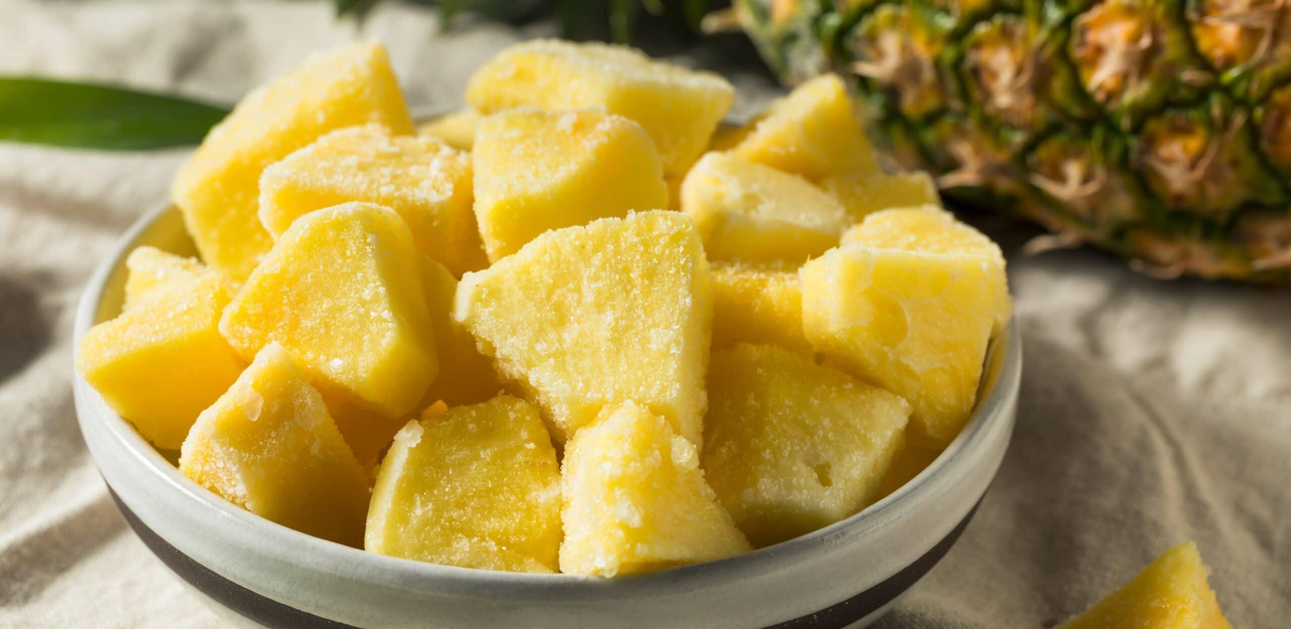 bromelina e ananas benefici