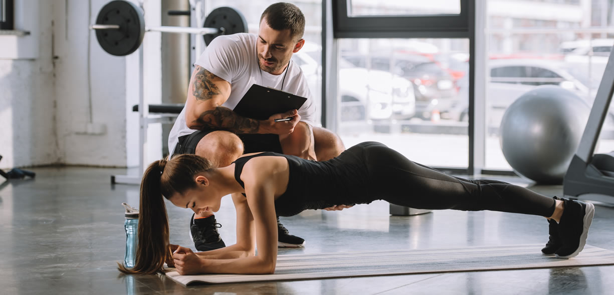 Plank programma allenamento