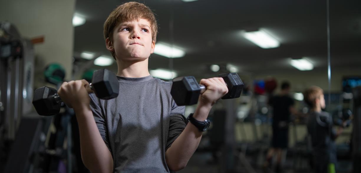 i bambini possono fare pesi