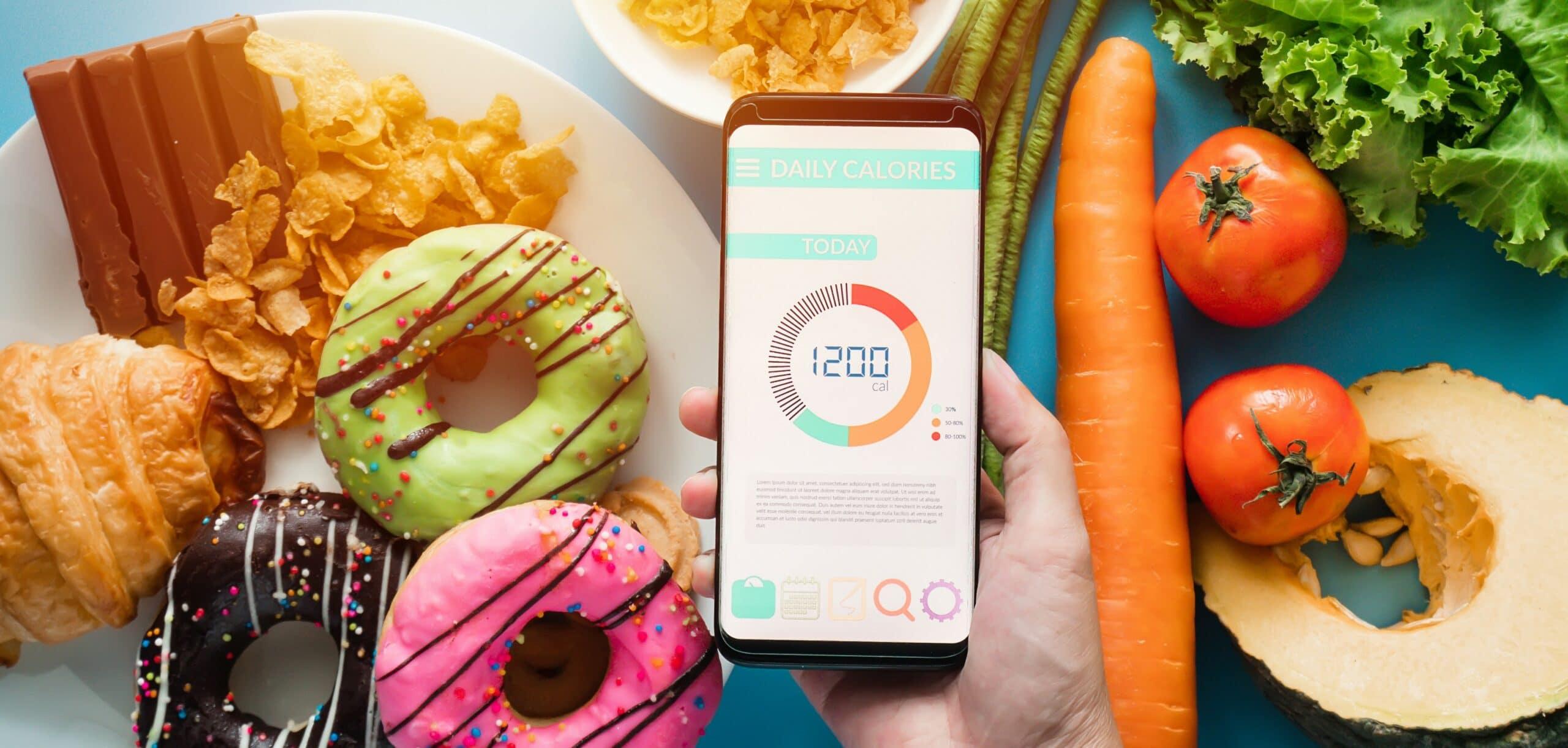 contare calorie alimenti
