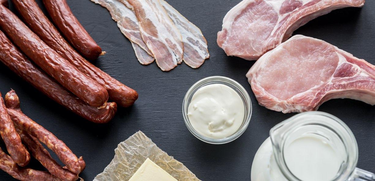 Acidi grassi saturi e colesterolo