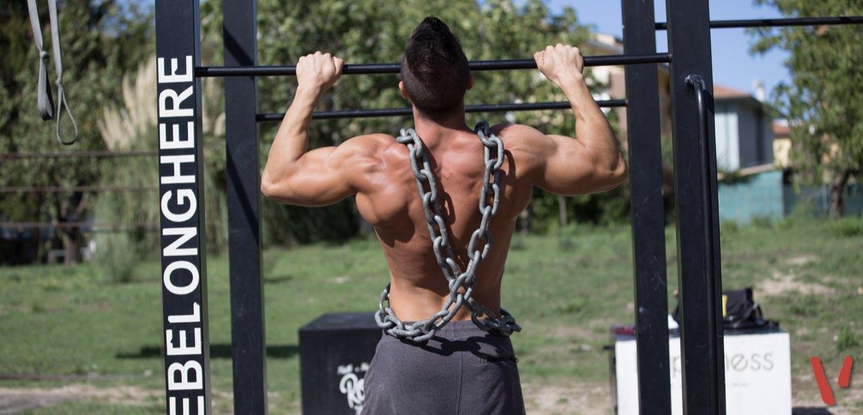 Erik Neri allenamento