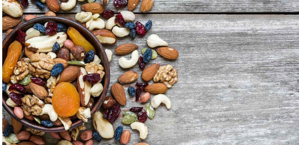 Che cos'è la frutta secca?
