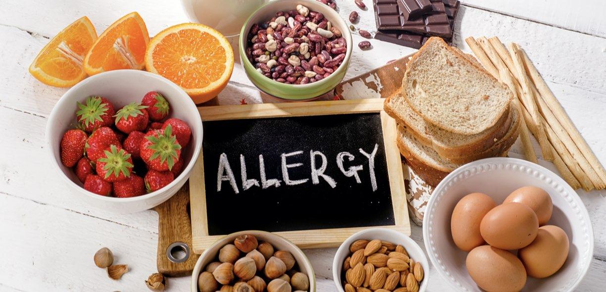 cibi soggetti ad allergie