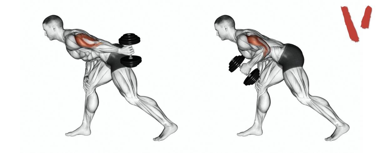 estensioni del braccio a 90°