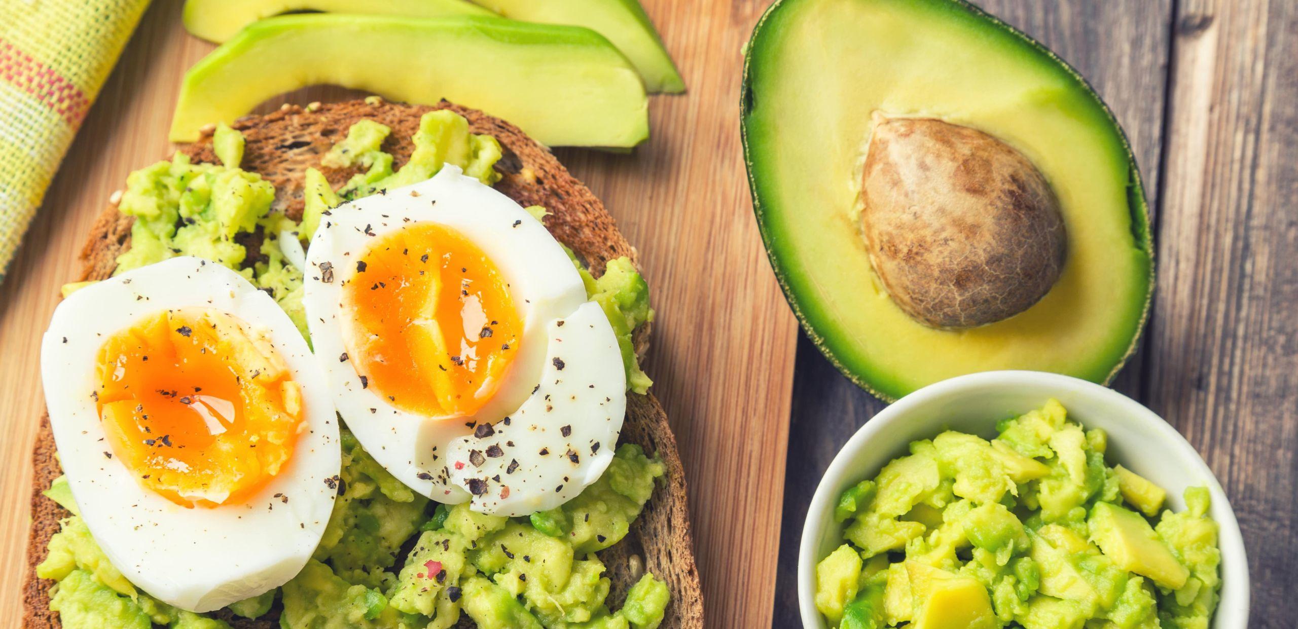 Colazione per dimagrire con l'avocado