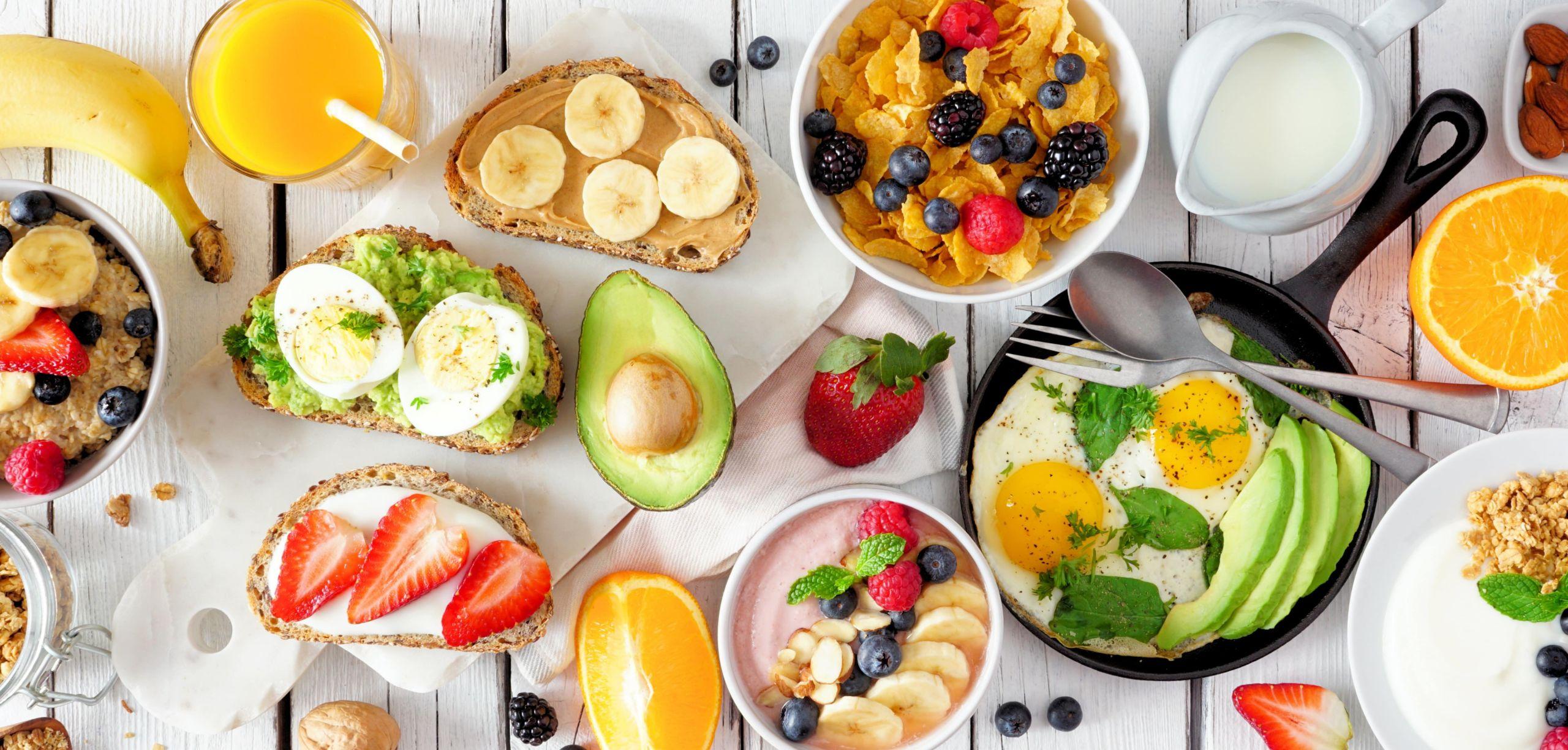 Colazione dietetica abbondamente per perdere peso