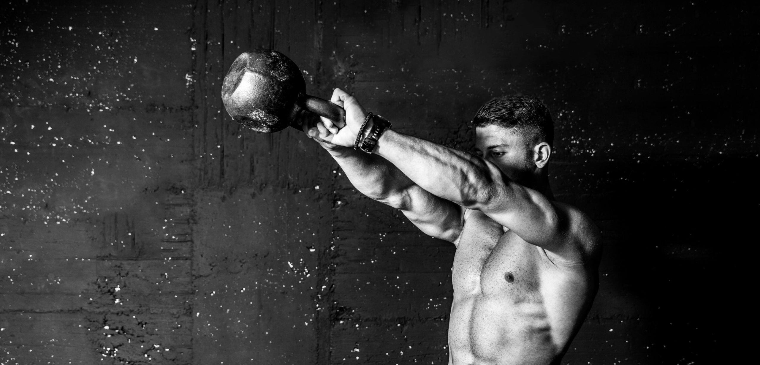 Destrosio per l'allenamento in palestra e nel bodybuilding