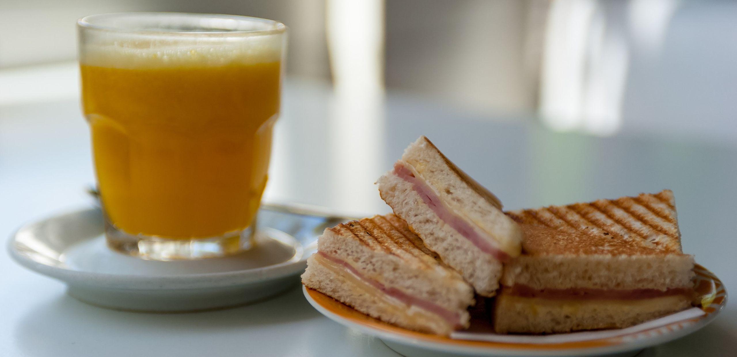 Esempio di colazione salata per dimagrire