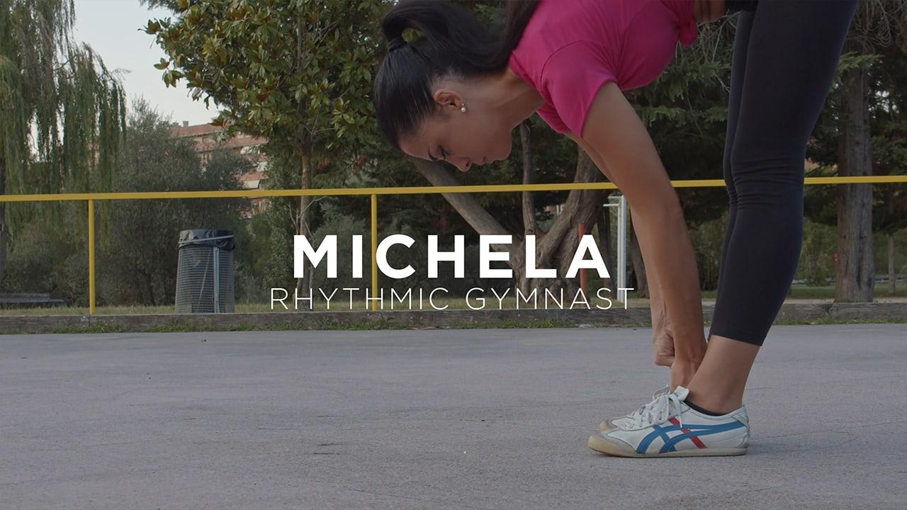 michela rhythmic gymnast