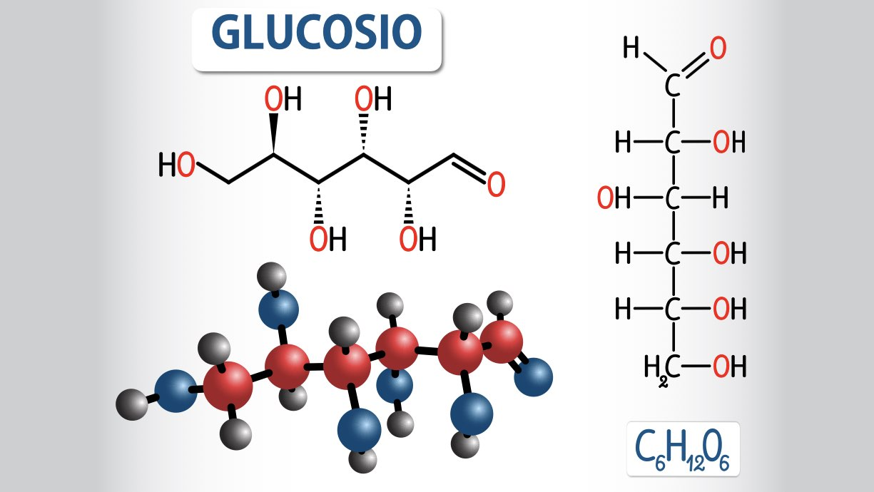 Glucosio formula chimica