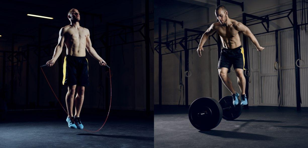 Tabata circuit training