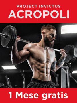 acropoli project invictus abbonamento gratis 1 mese