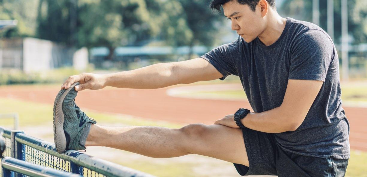 Recupero muscolare stretching