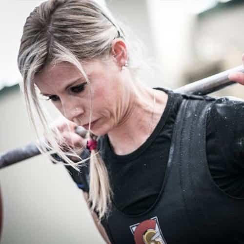 Elisa VinanteAtleta e coach dei Barbarian Powerlifting