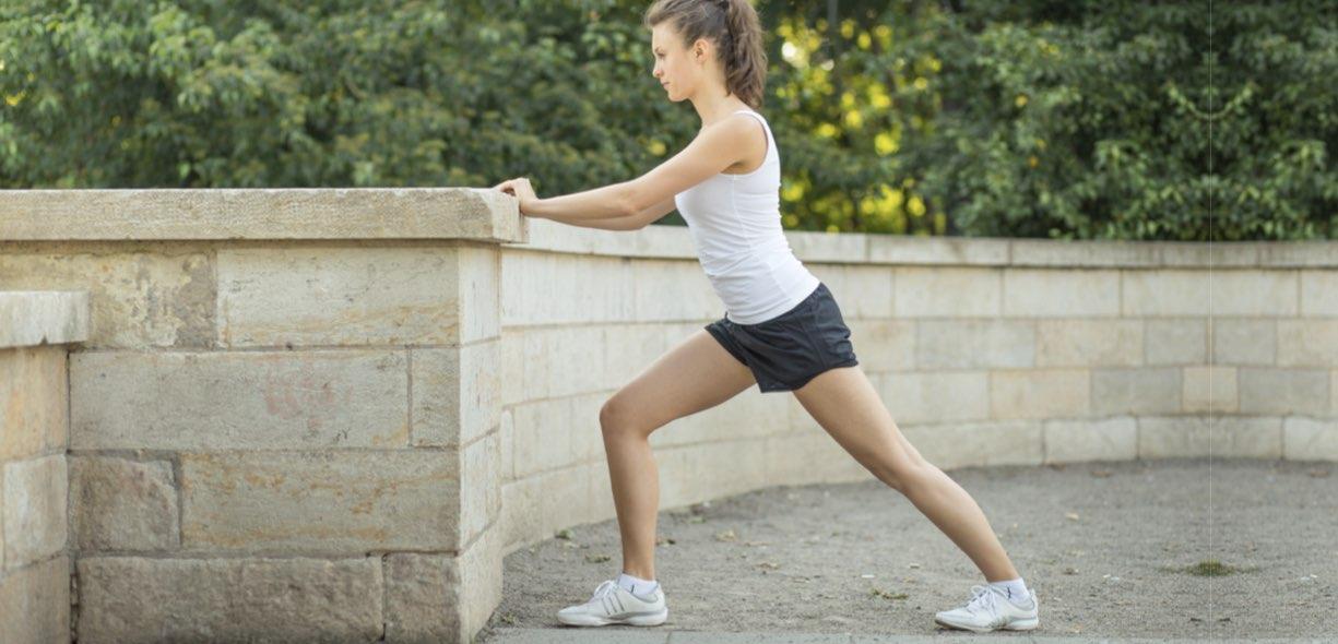 Stretching gastrocnemio