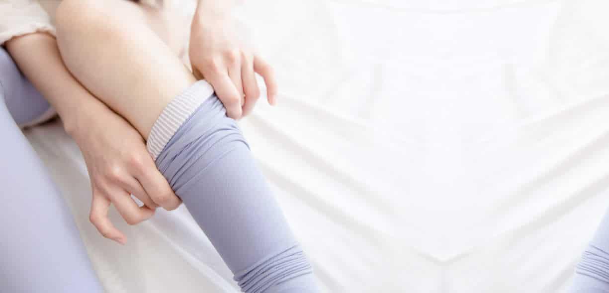 Calze e gambe gonfie