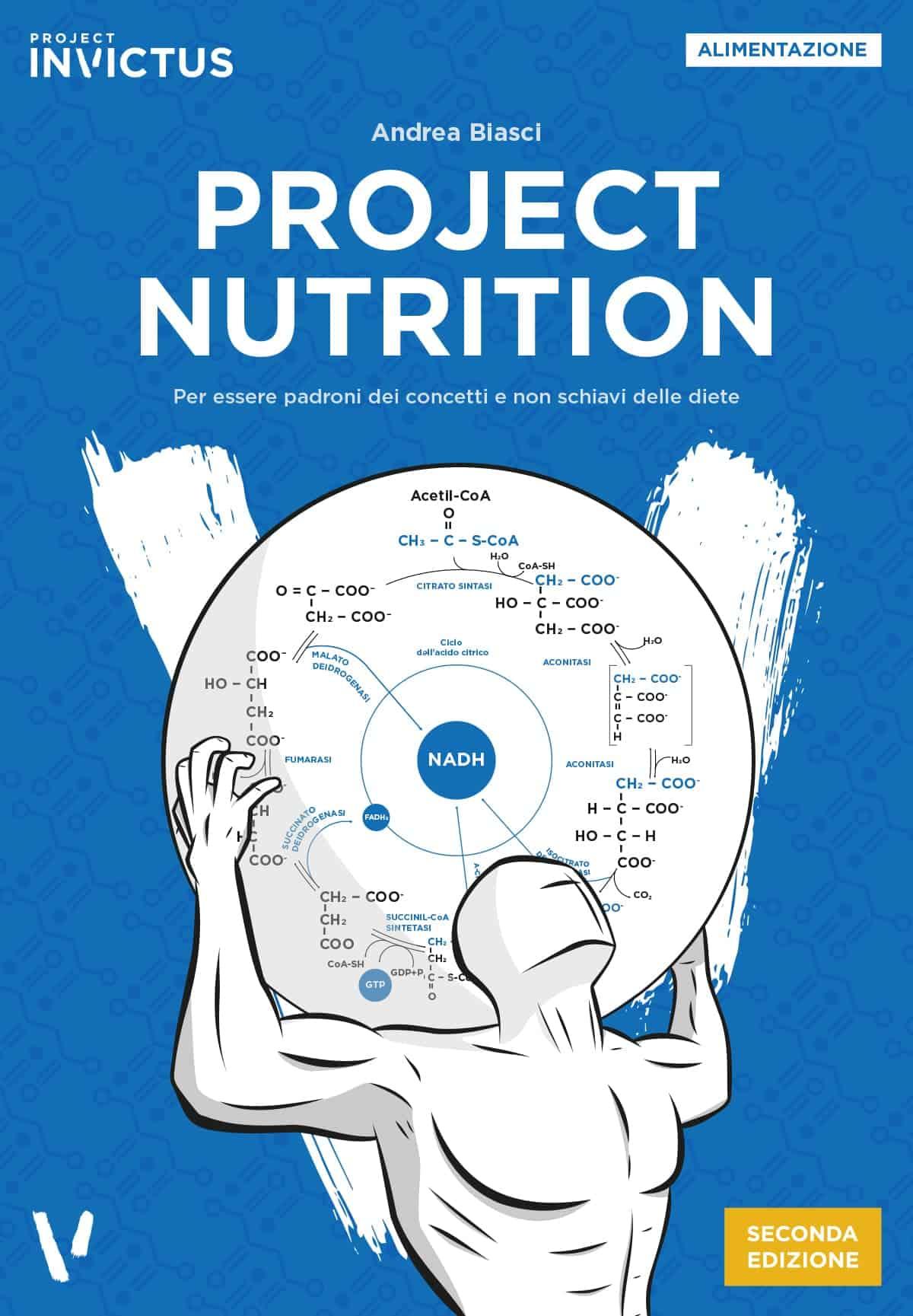 Project Nutrition Seconda edizione copertina