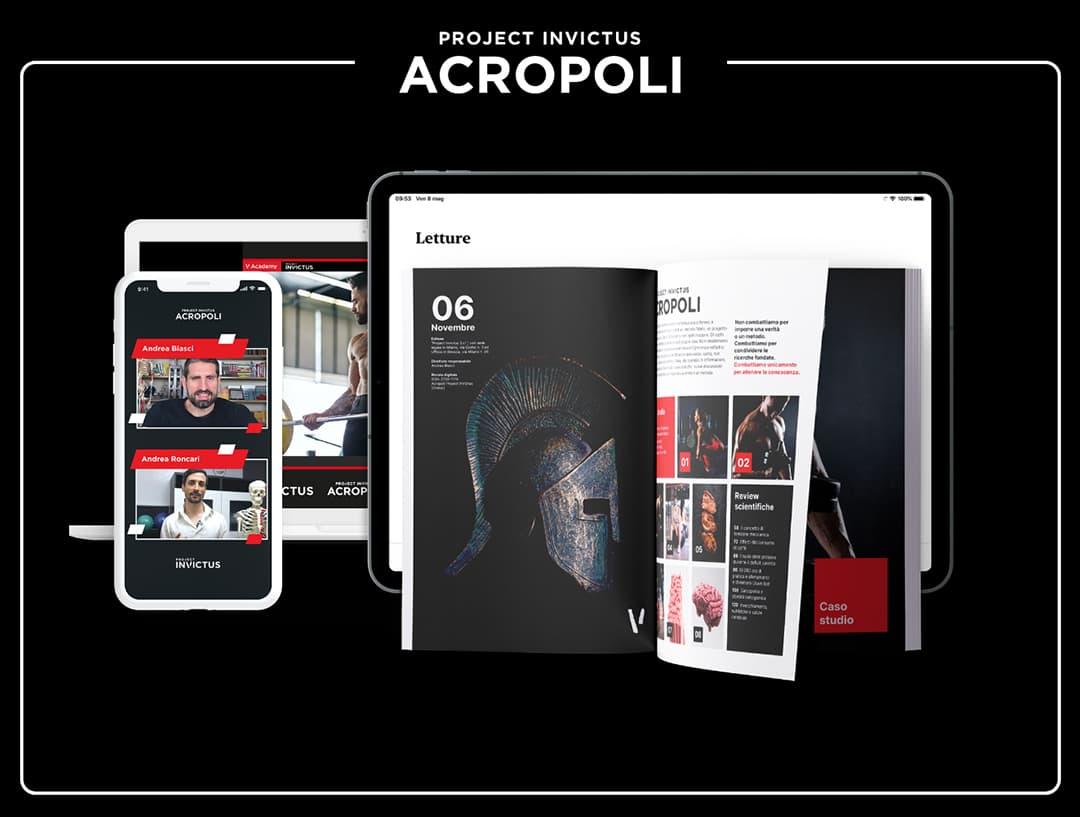 Acropoli Project Invictus Rivista e diretta