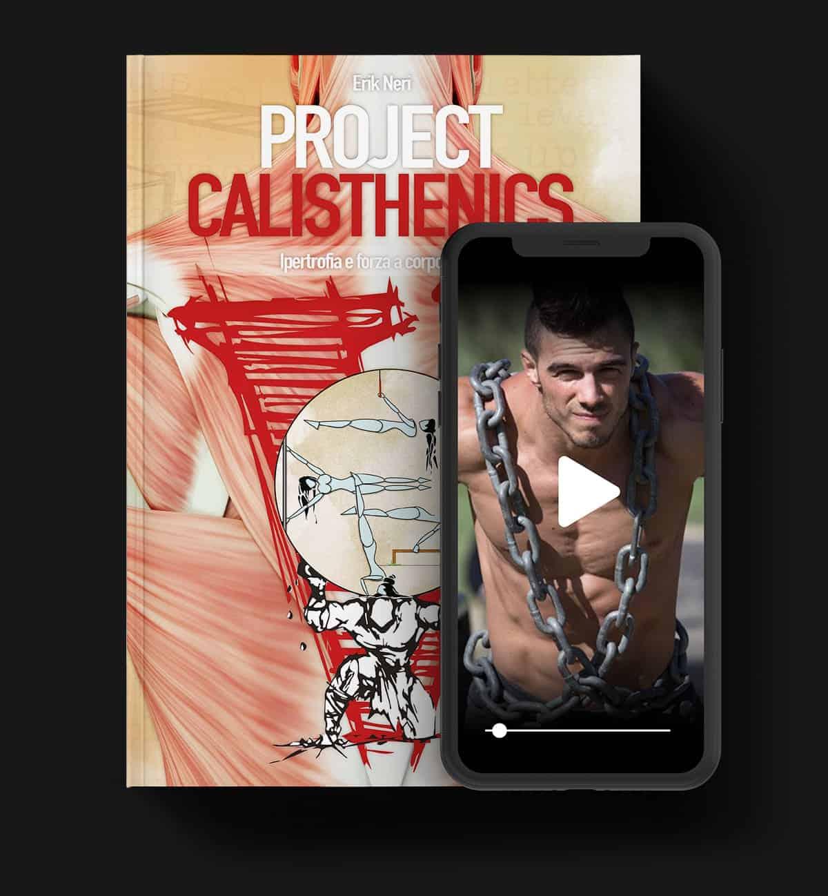 Project Calisthenics libro videocorso