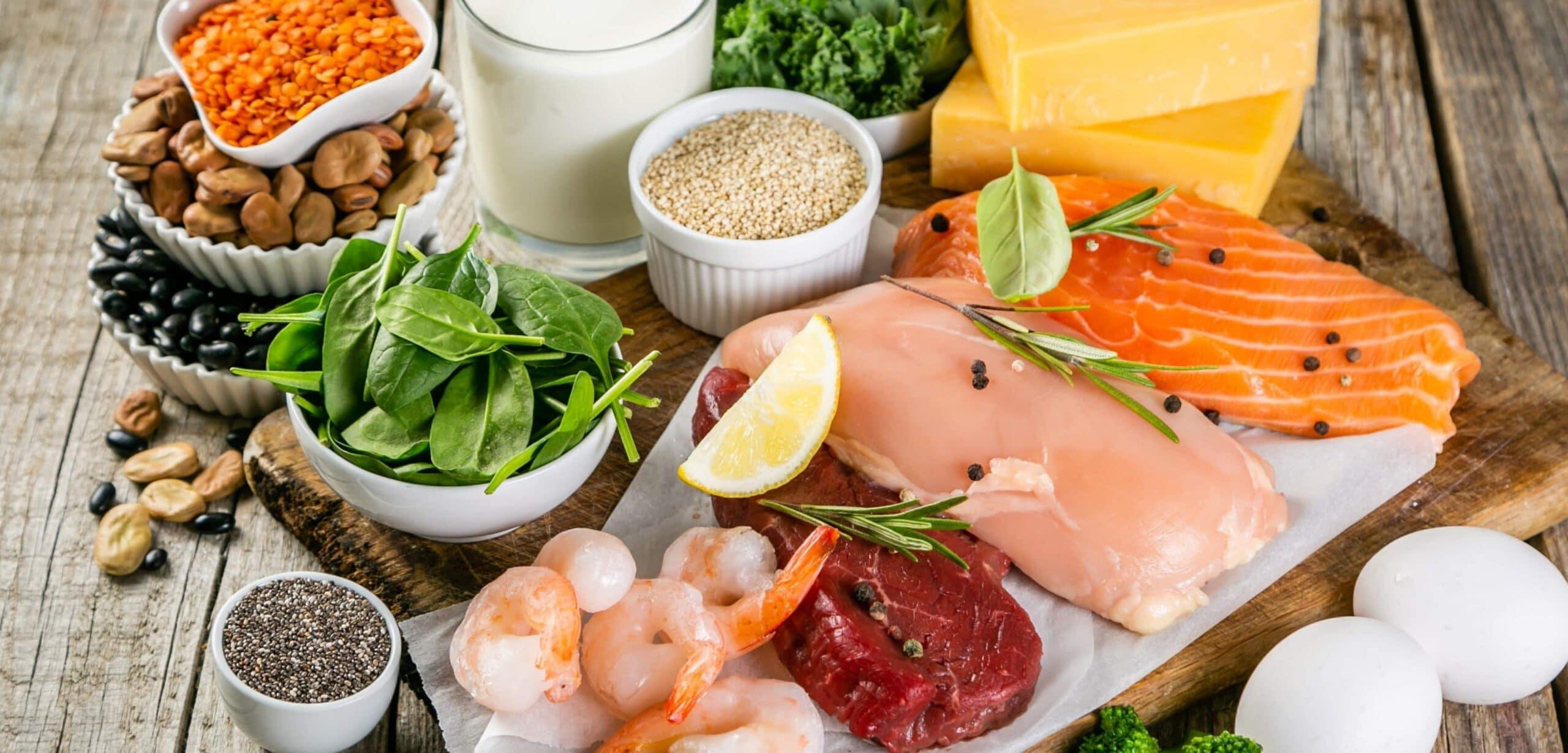 confronto proteine animali e proteine vegetali