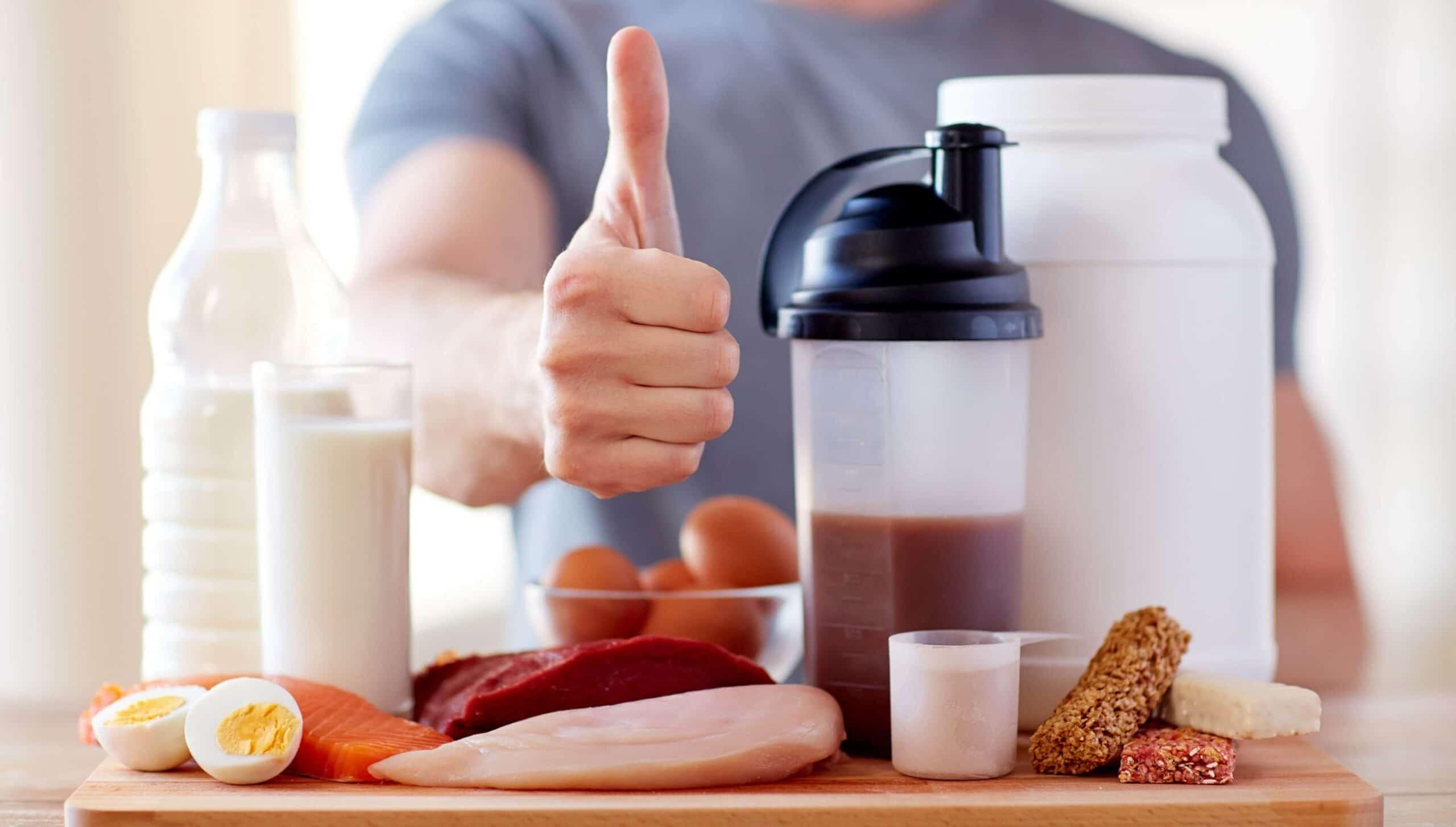 proteine per chi fa palestra