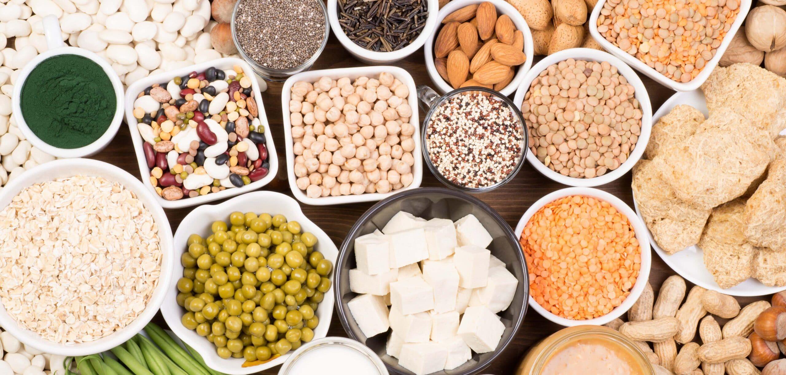 proteine vegetali a dieta e per il dimagrimento