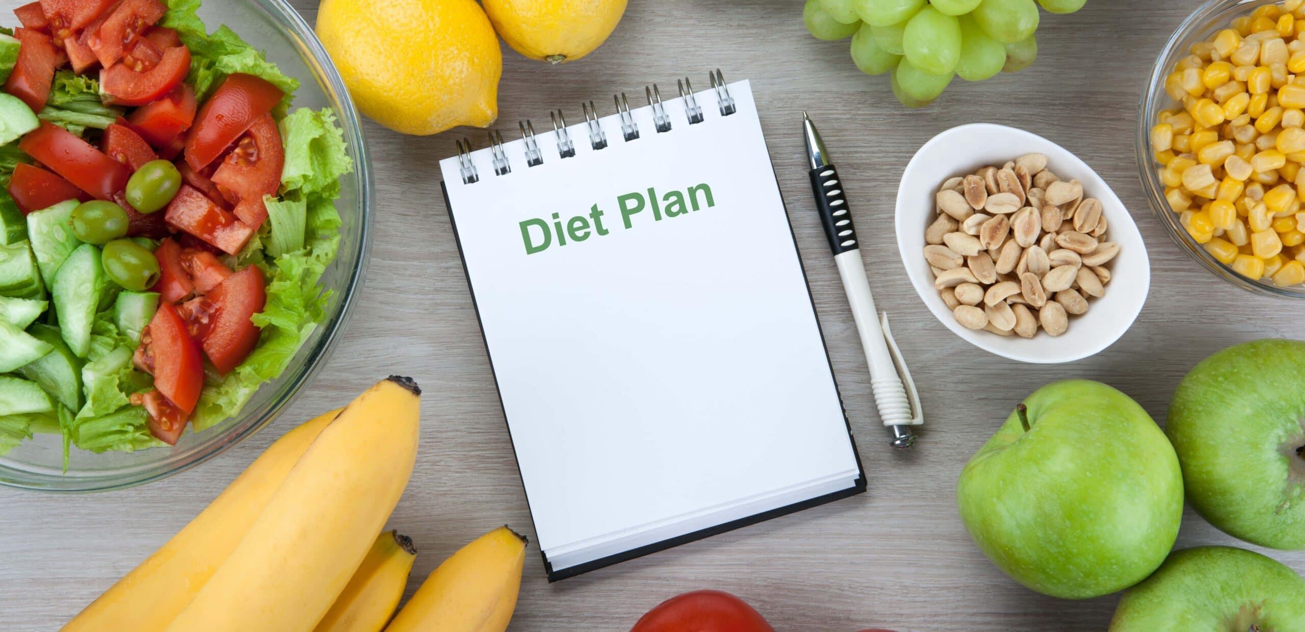 dieta equilibrata e alimentazione sana menu