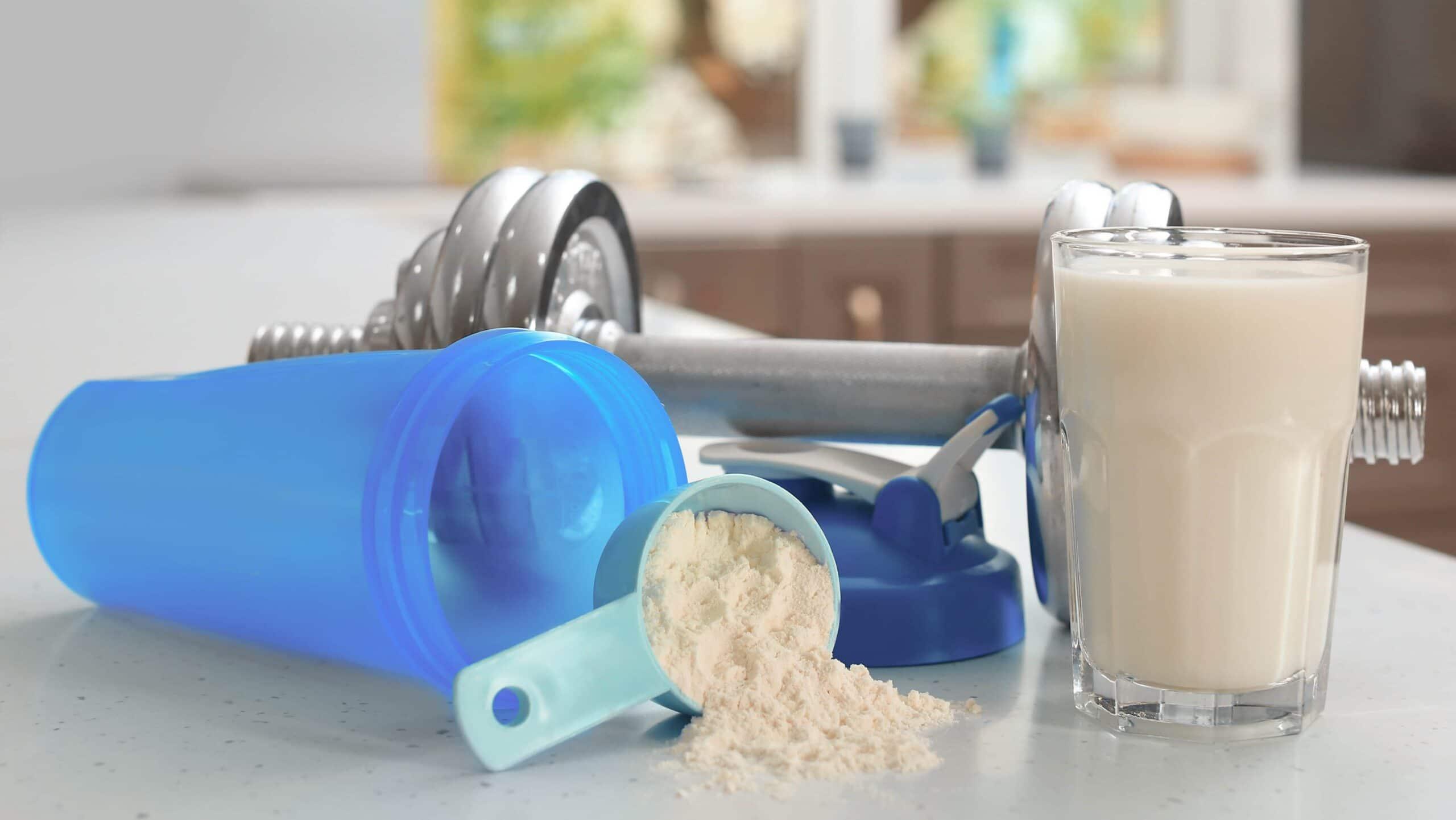 proteine siero del latte per dieta e palestra