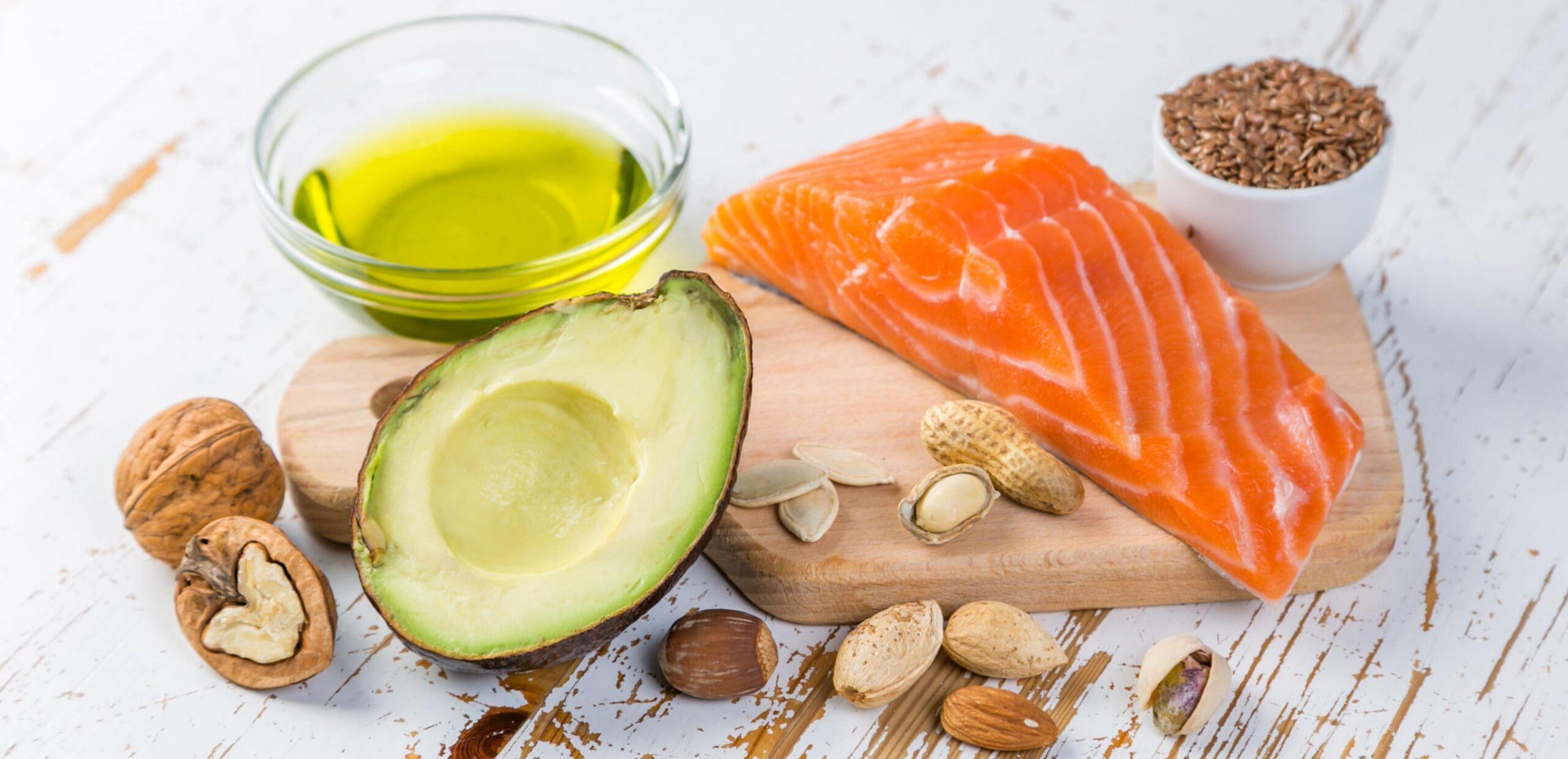 grassi e fonti alimentari nella dieta