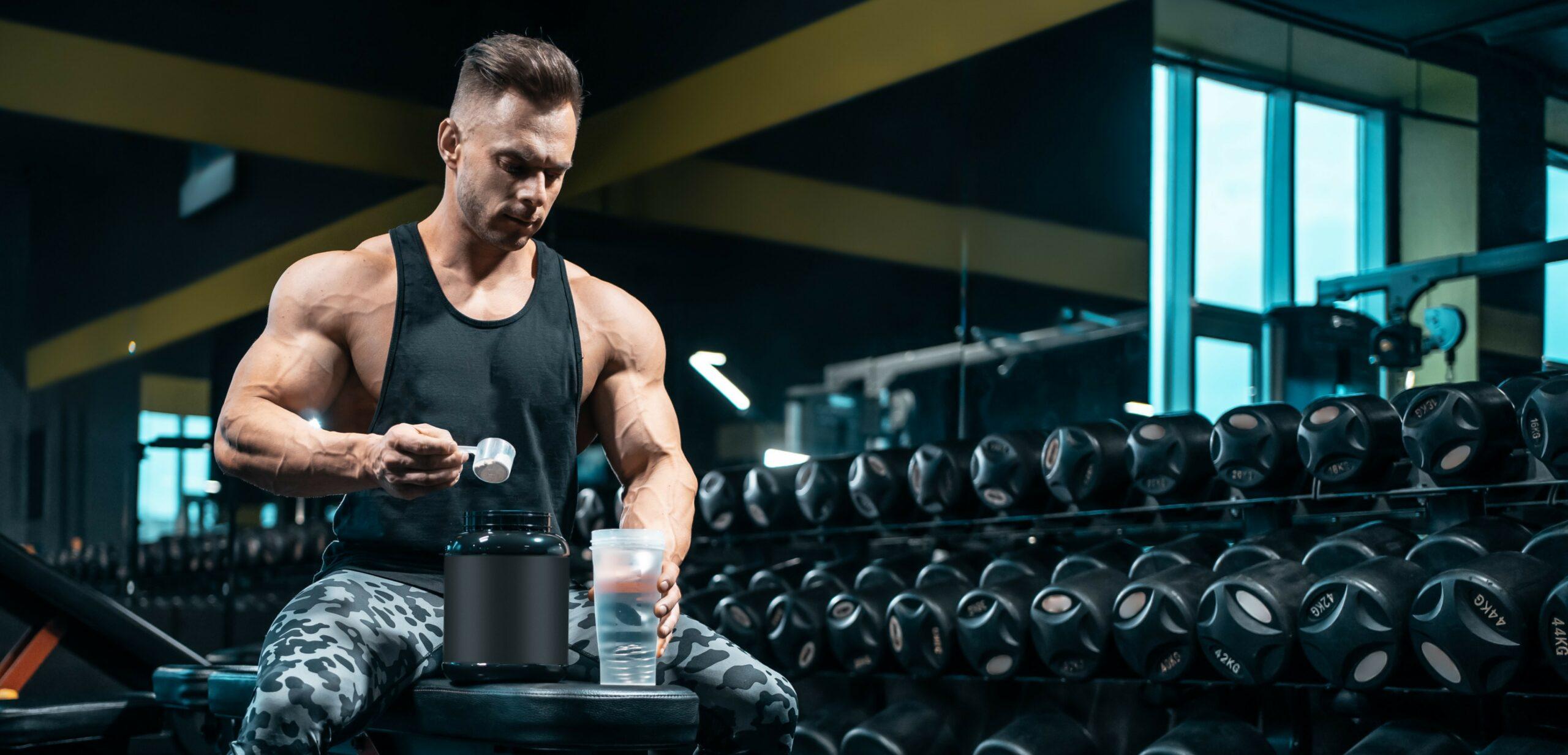 integratori di proteine per la palestra e il bodybuilding