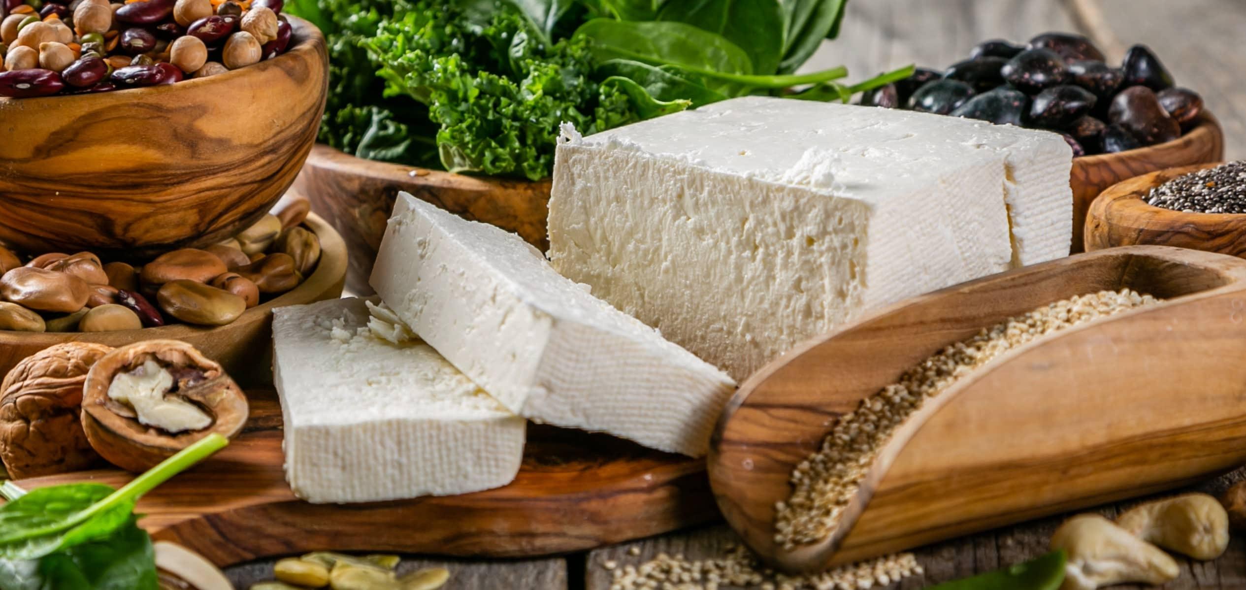 proteine vegane negli alimenti per la palestra