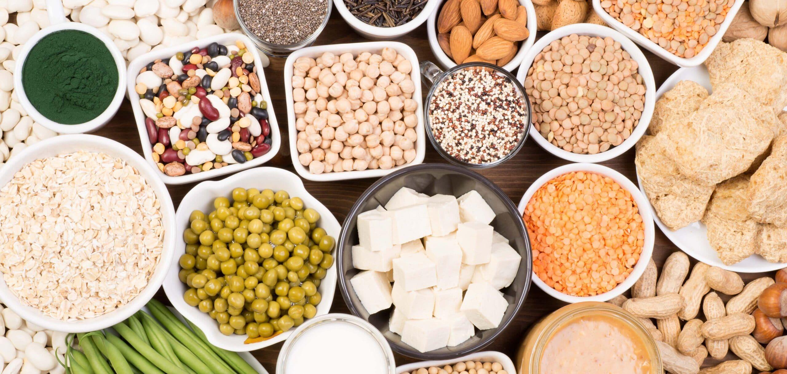 fonti alimentari proteine vegane