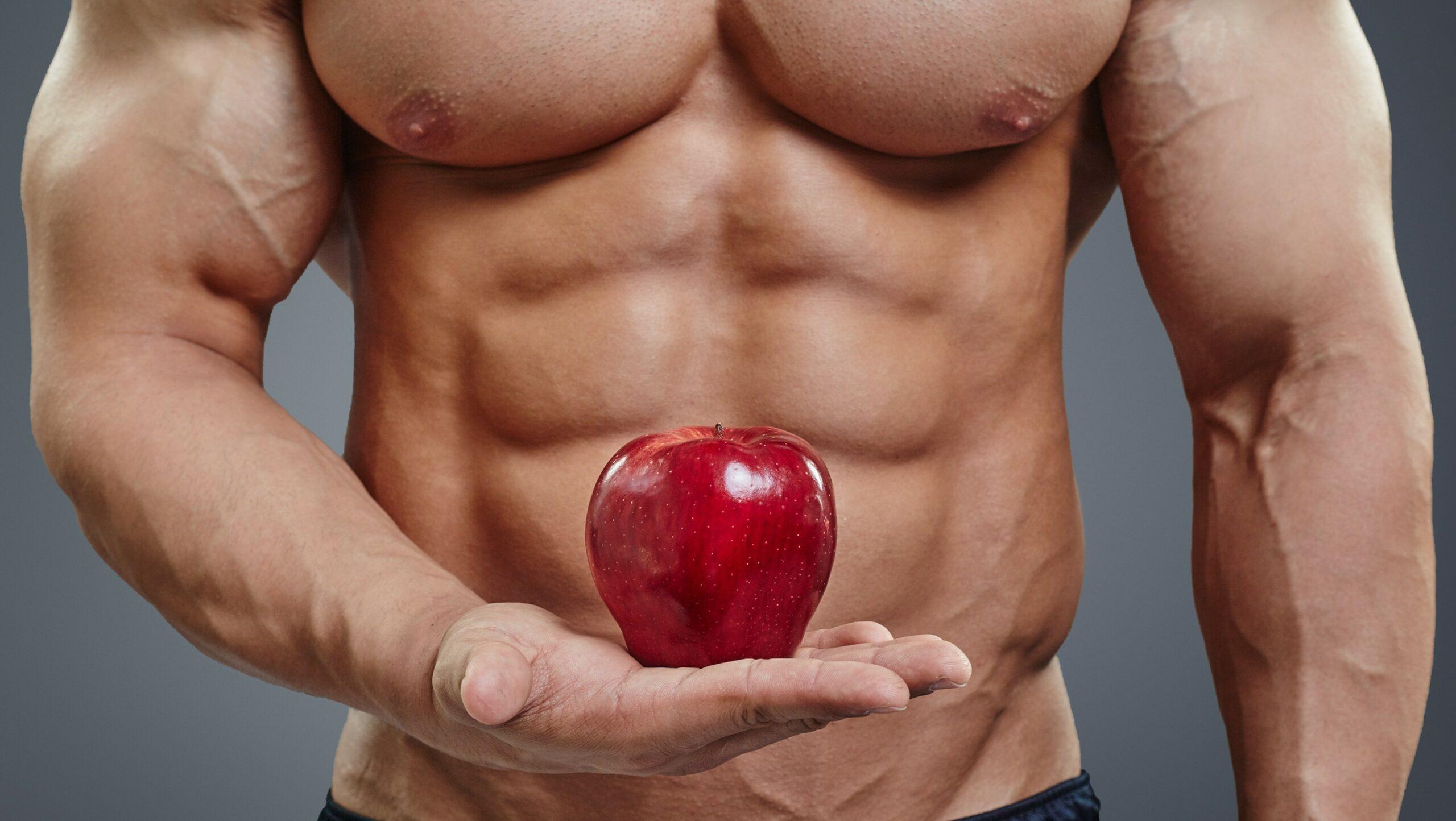 dieta per gli addominali e la palestra