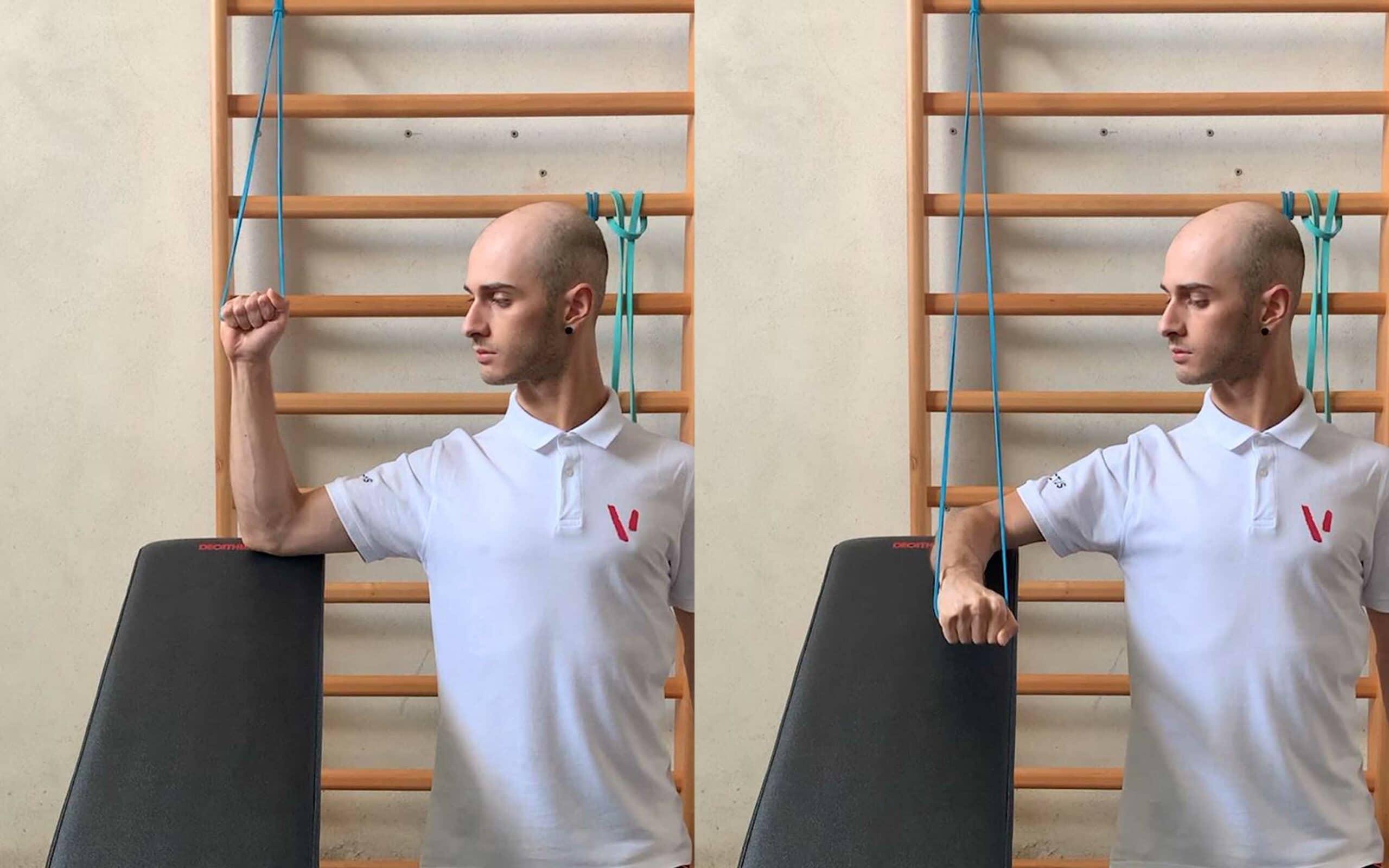 mobilità e rinforzo spalla